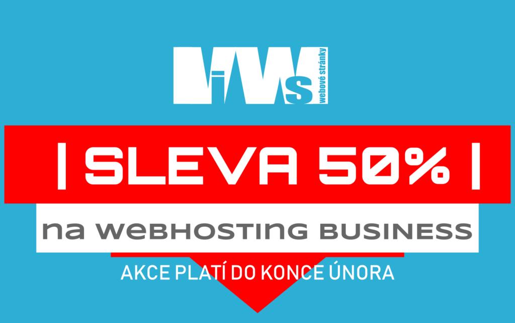 SLEVA WEBHOSTING BUSINESS